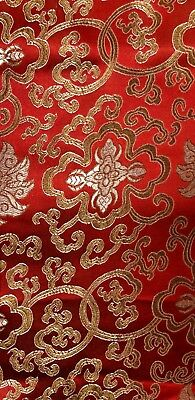 Chinese Fabric Dragon Brocade Oriental Material Sold by the Metre 45 inch 112cm