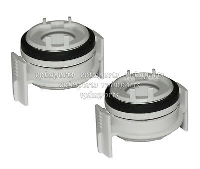 H7 HID Xenon Discharge Lights Bulbs Headlight Holders Adapters For BMW E46 320