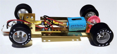 H&R Racing HRCH03 Adjustable Chassis w/ 40,000 RPM Motor 1:24 Slot Car