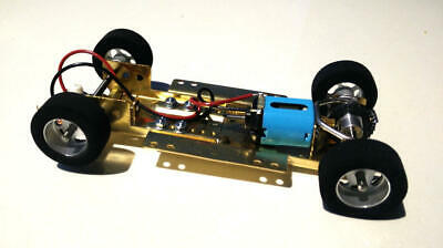 H&R Racing HRCH08 Adjustable Chassis w/ 18,000 RMP Motor 1:24 Slot Car