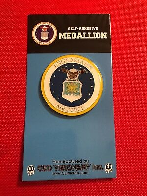 Air Force Officially licensed product of U.S. Air Force. Self-Adhesive Medallion