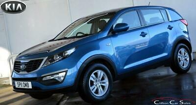 2011 11 Kia Sportage 1.7Crdi 1 5 Door 6-Speed 114 Bhp Diesel