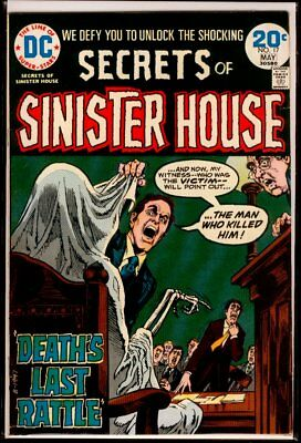 DC Comics Secrets Of SINISTER HOUSE #17 FN 6.0