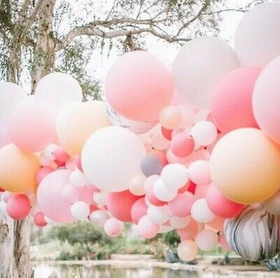 "Big 18""/46cm Balloons 4 Pastel/Macaron Colors  Birthday Wedding Party MelbSeller"
