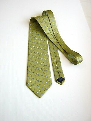 Eton Blues New New Made In Mano Hand Made In Italy Silk Original