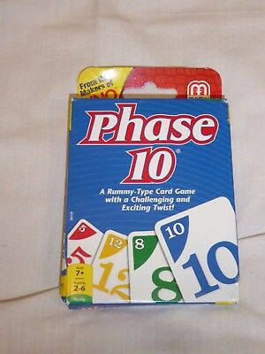 Phase 10 Card Game: A Rummy-Type Card Game With A Challenging & Exciting Twist!