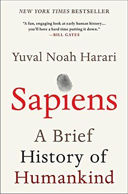 Sapiens: A Brief History of Humankind by Yuval Noah Harari ⚡Email Delivery(9s)📧
