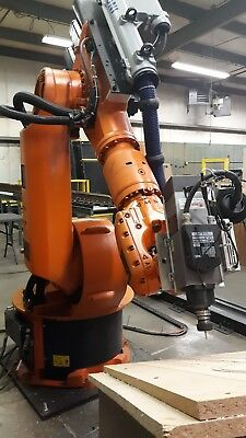 KUKA INDUSTRIAL ROBOTIC Arm  Milling, Deburring, and polishing  KR150-2