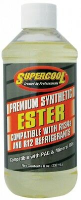 Supercool R-134a /R12 Super Premium Ester Aircon Lubricant 8 oz / 237ml  NEW