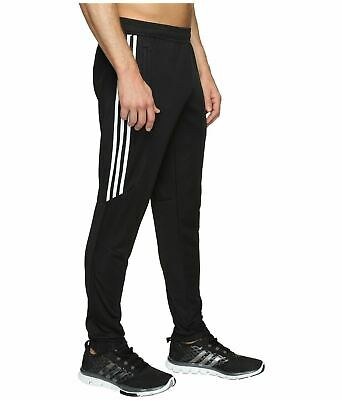 Adidas Men's Tiro 17 Training Pants - Black/White/White -FREE SHIP-NEW- BS3693 +