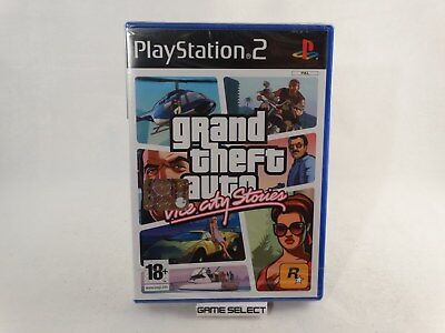 Grand Theft Auto Vice City Stories Gta Sony Ps2 Pal Ita Italiano Nuovo Sigillato