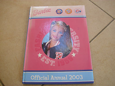 Official BARBIE annual 2003