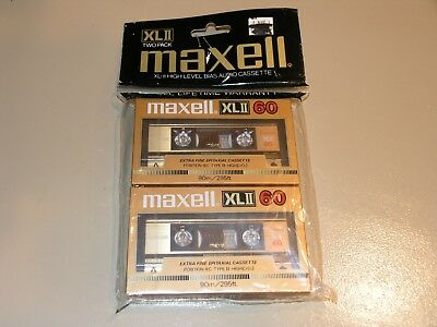 Maxell Xl Ii 60 Blank Cassette Tapes