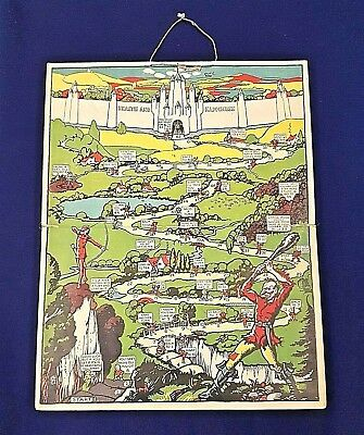 The Ivory Castle Game 30s D&W Gibbs Dentifrice Toothpaste Advertising Game Old