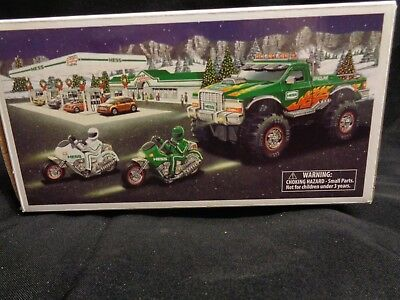 2007 Hess Monster Truck and Motorcycles NIB