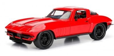 Letty's Chevy Corvette - Red 'Fast & Furious 8' 1/24 Model Car