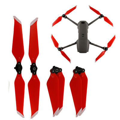 2 Pairs Foldable Low Noise Propellers Blade Prop For DJI Mavic 2 Pro Zoom Drone