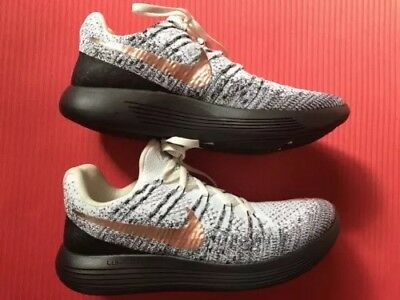 size 40 5a428 cc4fc NIKE LUNAR EPIC Flyknit 2 Running Shoes Mens 8 (or Women's 9.5)- LIKE NEW