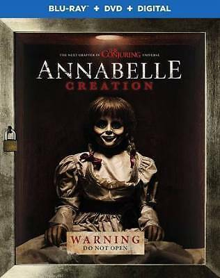 Annabelle: Creation (Blu-ray/DVD, 2017, 2-Disc Set, Canadian)