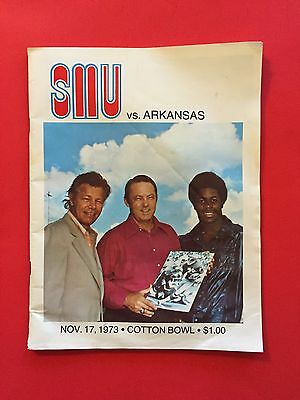 Smu Mustangs Vs Arkansas Razorbacks Original 1973 Cotton Bowl Football Program