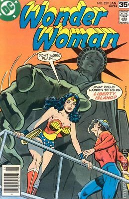 Wonder Woman (1st Series DC) #239 1978 VG 4.0 Stock Image Low Grade