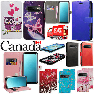 For Samsung Galaxy S10 Shockproof Flip Leather Wallet Stand Magnetic Case Cover