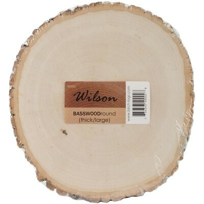 """Basswood Thick Round-9"""" To 11"""""""