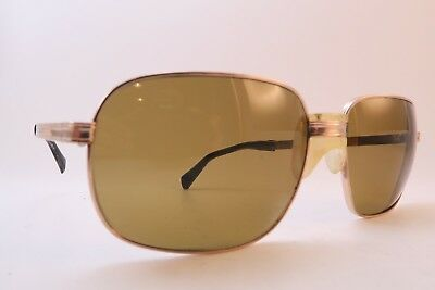 78c595825fd Vintage 60s sunglasses gold filled SAFILO 20 000 glass lens made in Italy