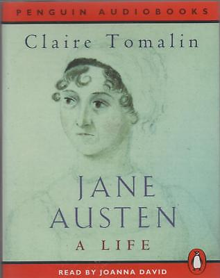 JANE AUSTEN: A LIFE by Claire Tomalin ~ Two-Cassette Audiobook