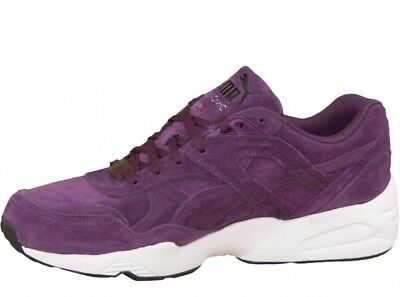 buy popular 6bc7f 1ee36 PUMA R698 ALLOVER Suede Purple Mens Retro Running Shoes SNEAKERS 359392-01,  US11
