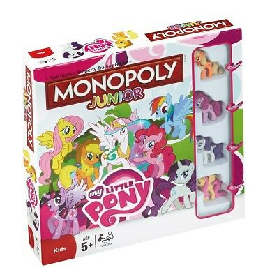 Monopoly Junior My Little Pony Board Game Boardgame - English Version New
