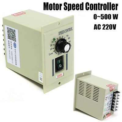 AC 220V Input Knob DC Motor Speed Variable Control Controller For DC 220V Motor