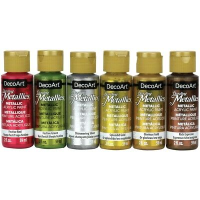 Americana Dazzling Metallics Value Pack 6/pkg-