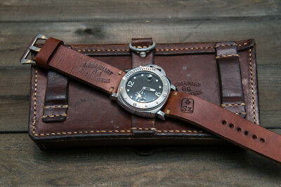 Watch band, Swiss Vintage Ammo, made to order 16mm - 26 mm  Handmade in Finland