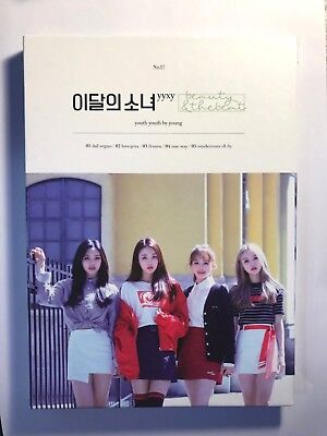 LOONA yyxy Beauty&the beat Normal Version B Mini Album Unsealed KPOP Opened