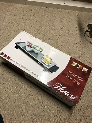 Hostess HT4020 Cordless Hot Tray - Small. New - Never Been Out Of box.