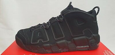more photos 8dd06 a046c NIKE AIR MORE Uptempo Triple Black (414962-004) Uk14 Eu49.5 Us15 ...