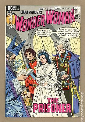 Wonder Woman (1st Series DC) #194 1971 VG/FN 5.0