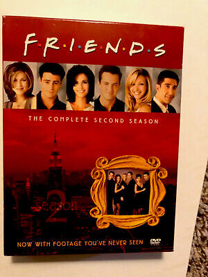 Friends Season 2 - Box Set- Complete Dvd Collection -