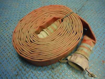Used 3 In X 50 Ft Trash Pump / Water Lay Flat Discharge Hose!
