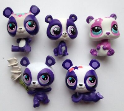 pet shop lot panda ours beer lot # lps littlest petshop - eur 5,00