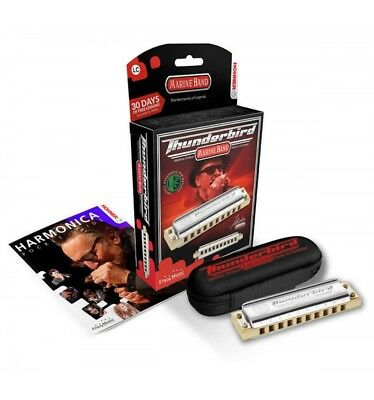 Hohner ThunderBird 10 trous - Do grave - Harmonica diatonique