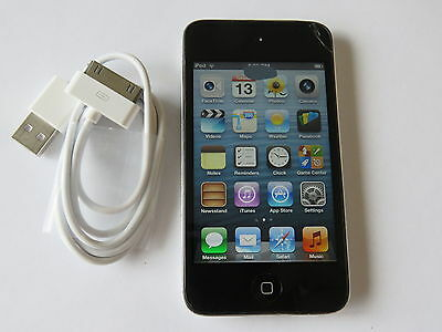 Apple iPod Touch 4th Gen 8GB Model A1367 Camera Working Perfectly small crack
