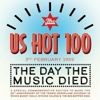 Various Artists - Us Hot 100 3rd Feb. 1959: Day the Music Died [New CD]