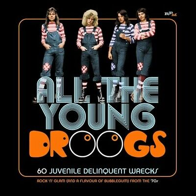 Various Artists - All The Young Droogs: 60 Juvenile Delinquent Wrecks / Various
