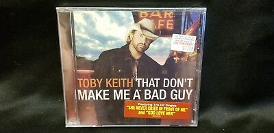 TOBY KEITH That Dont Make Me A Bad Guy CD 2008