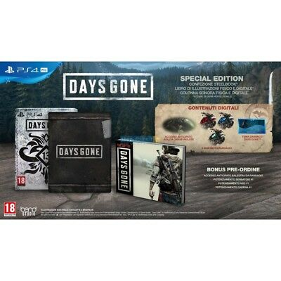 Preordine 26 aprile 2019 - DAYS GONE SPECIAL EDITION Playstation 4 PS4 italiano