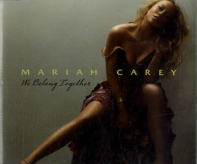 "We Belong Together Mariah Carey UK CD single (CD5 / 5"") promo MARIAHCDP6"