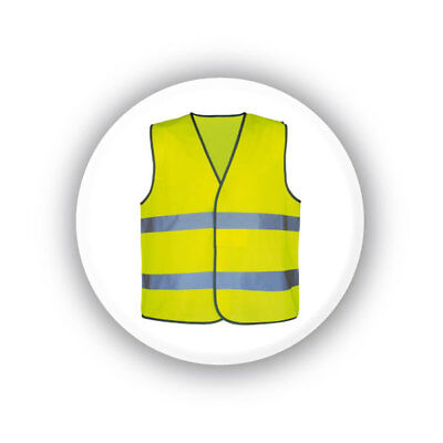 Badge les gilets jaunes Ø 32mm 1.25""