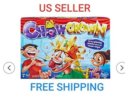 Hasbro Games - Chow Crown Game FREE SHIPPING